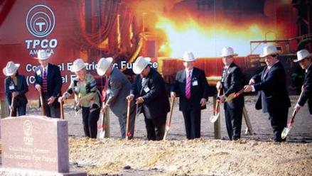 Construction continues at $1 billion pipe mill in Gregory