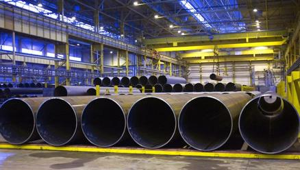 Severstal Izhora Launches New Finishing Press to Supply Pipes