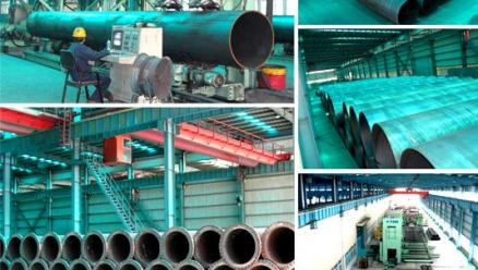 Sutor Technology Group Limited Won Bids to Supply Spiral Seam Steel Pipes fo Water Transportation